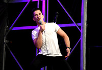Russell Kane comedian plays to 160 people at a village pub